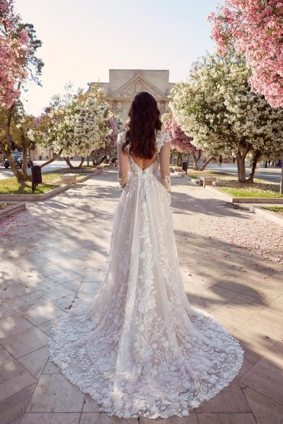 MEADOW-ML10994-FULL-LENGTH-FLORAL-LACE-KEYHOLE-BACK-WITH-V-NECK-AND-SLEEVES-WEDDING-DRESS-MADI-LANE-BRIDAL6
