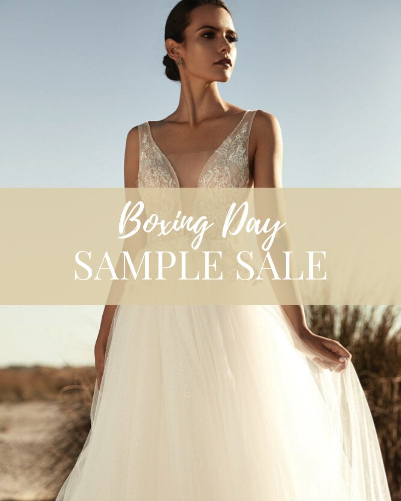 Say Yes for Less at Jessica Bridal Couture biggest end of year sample sale