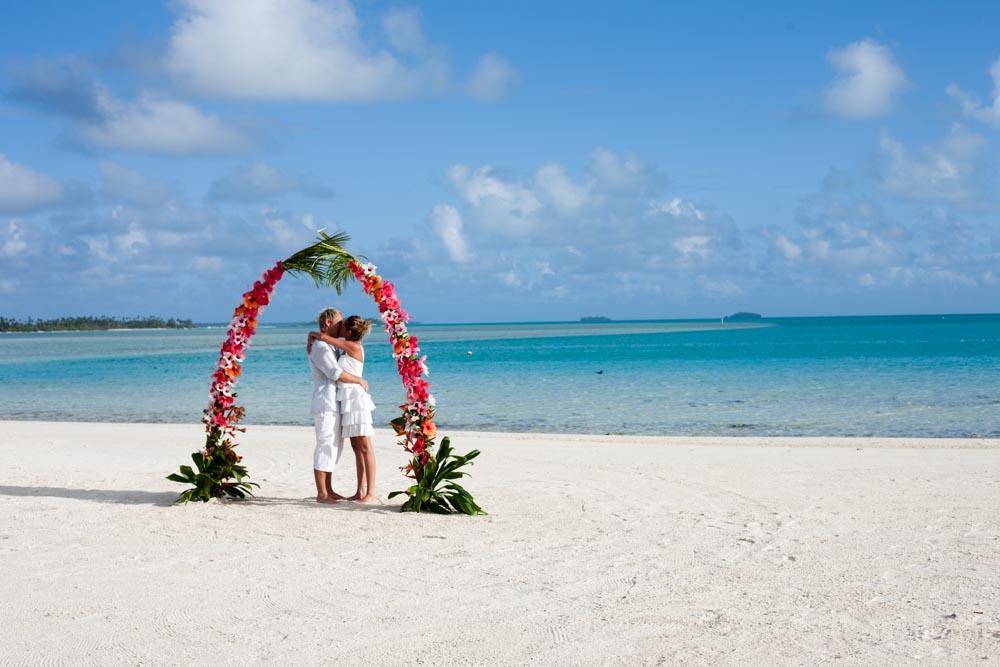 Travel to Rarotonga and select your wedding venue