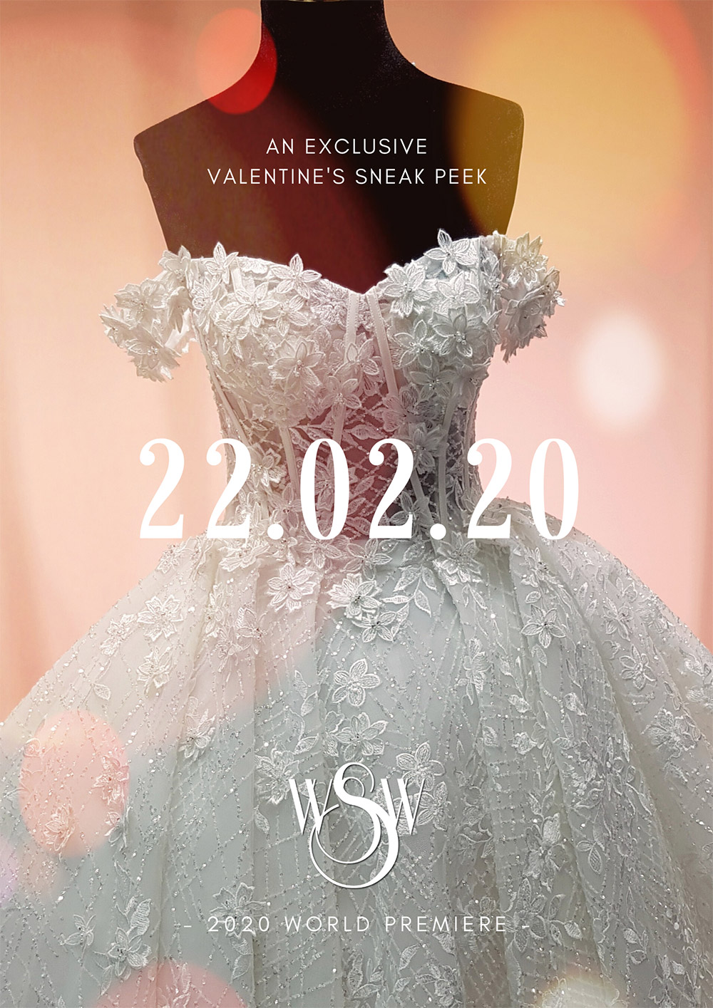 WIN! A double pass to Wedding She Wrote's Exclusive Valentine's Bridal Collection