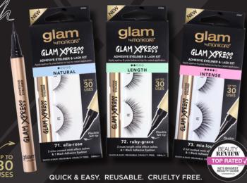 Glam by Manicare – GLAM XPRESS™ Adhesive Eyeliner & Lash Kits