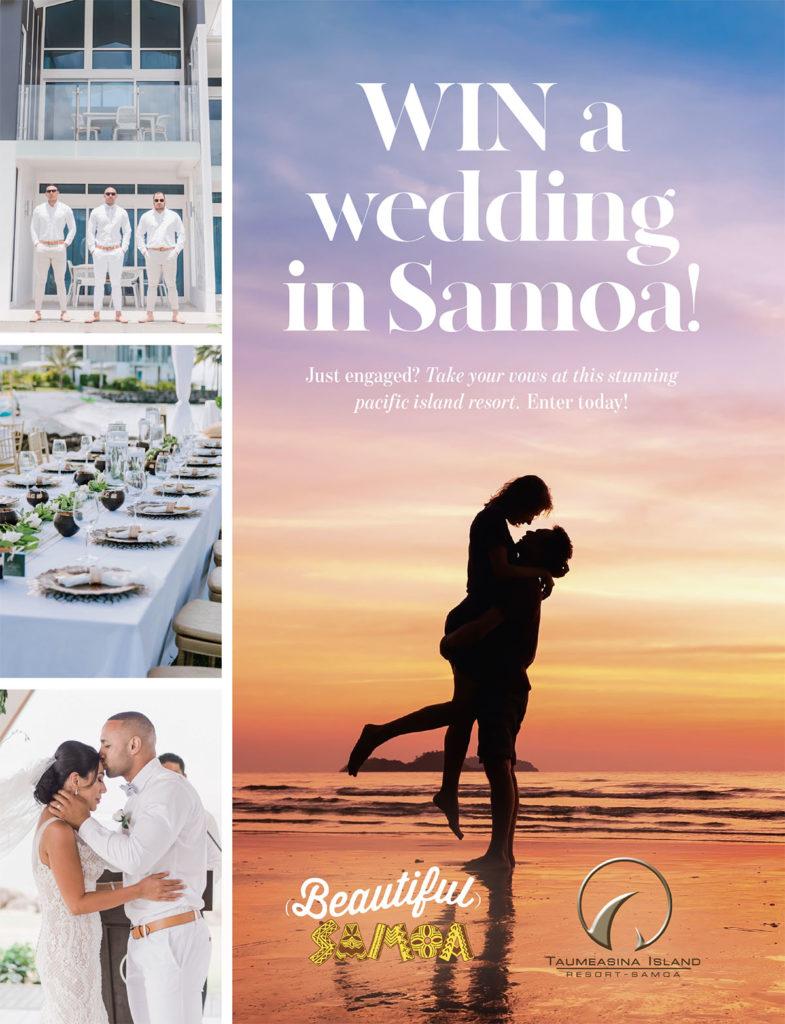 Win a wedding in Samoa